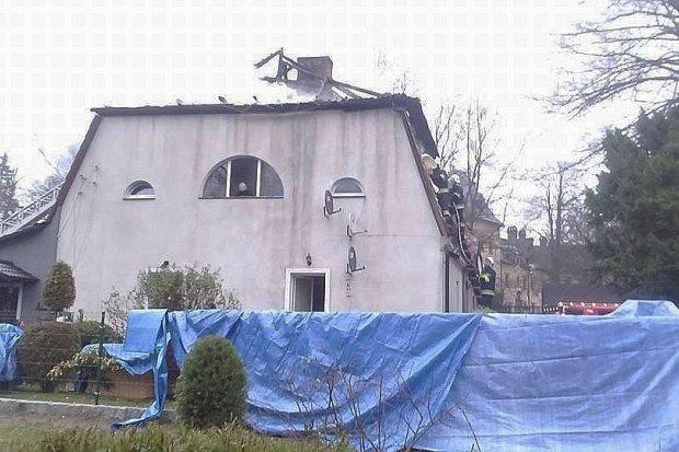 Pożar w Kliczkowie – cztery rodziny straciły dach nad głową