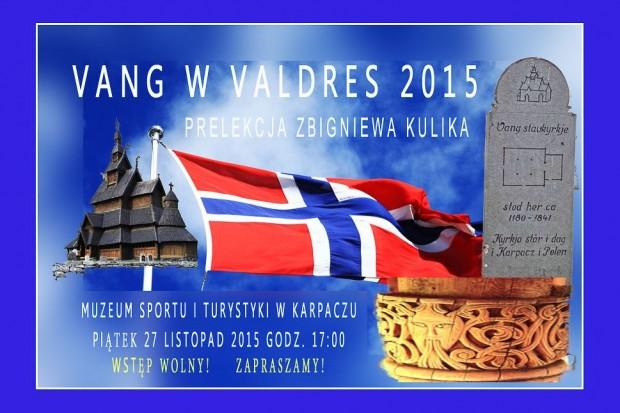 """Vang w Valdres"" – prelekcja Zbigniewa Kulika"