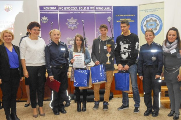 """Dwie drużyny z bolesławieckiego OHP na podium w konkursie """"Razem Bezpieczniej"""""""