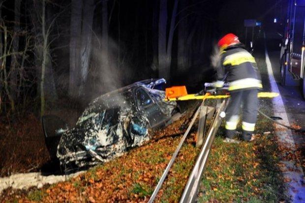 Wypadek na II Armii Wojska Polskiego – jedna osoba ranna