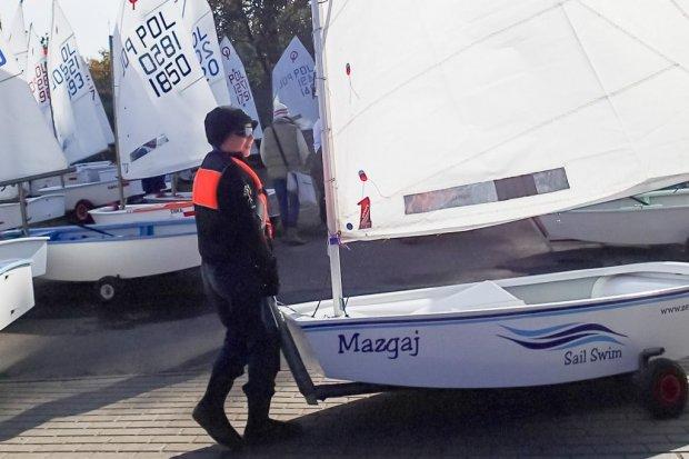 Udany start w regatach żeglarskich zawodnika szkółki żeglarskiej z Bolesławca