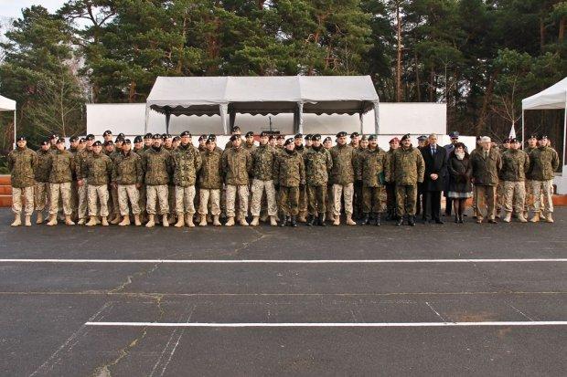 Powitanie żołnierzy, którzy wrócili z misji w Afganistanie