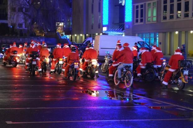 Mikołaje na motorach w naszym mieście