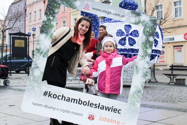 Darmowe zdjęcia w ramce #kochambolesławiec na Gwiazdkę Życzliwości
