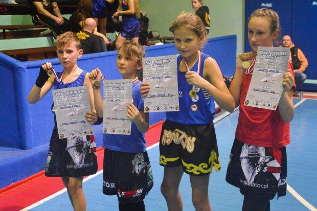 Gladiatorzy z czterema medalami Pucharu Polski Muay Thai