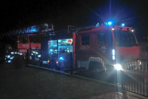 Dwa pożary w Wigilię