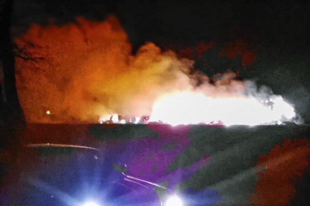 Pożar w Warcie Bolesławieckiej