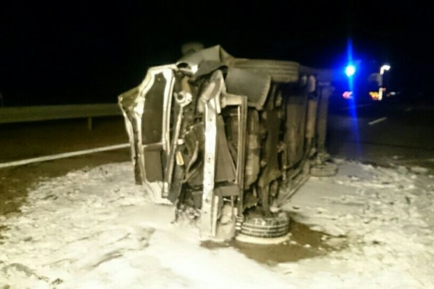 8 osób rannych wypadku na autostradzie