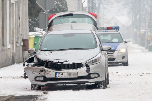 Kolizja w Kruszynie, Iveco zderzyło się z Kią