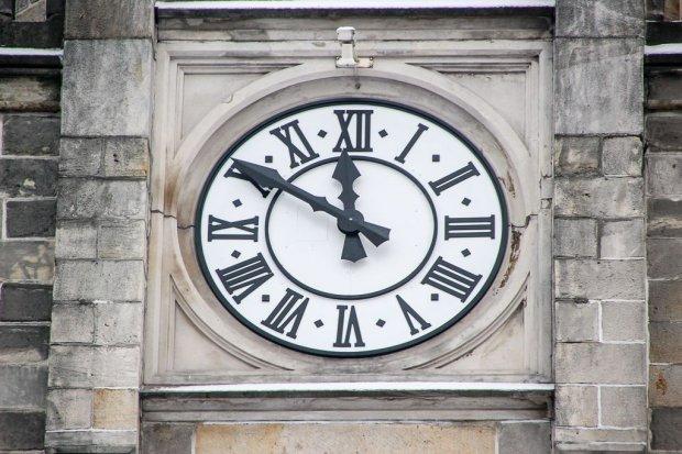 Nowy zegar na budynku Sądu Rejonowego
