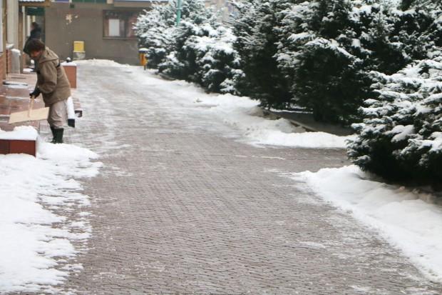 Kary za zalegający śnieg