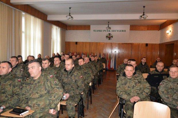 23 Śląski Pułk Artylerii: Przygotowanie do przyjęcia elewów