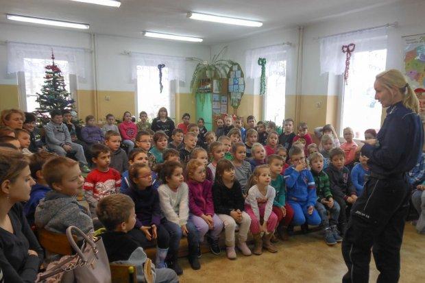Najważniejsze jest bezpieczeństwo: spotkania z uczniami przed feriami