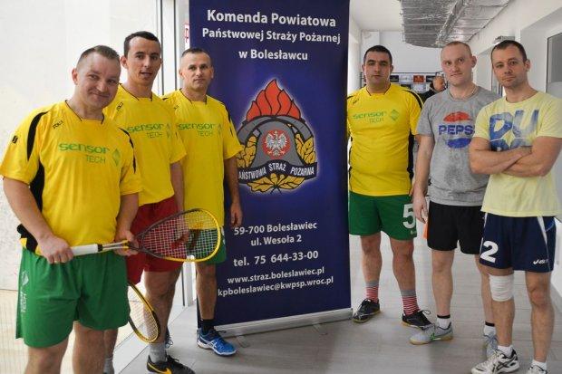 Za nami pierwsza edycja Mistrzostw Komendy Powiatowej PSP w Squashu