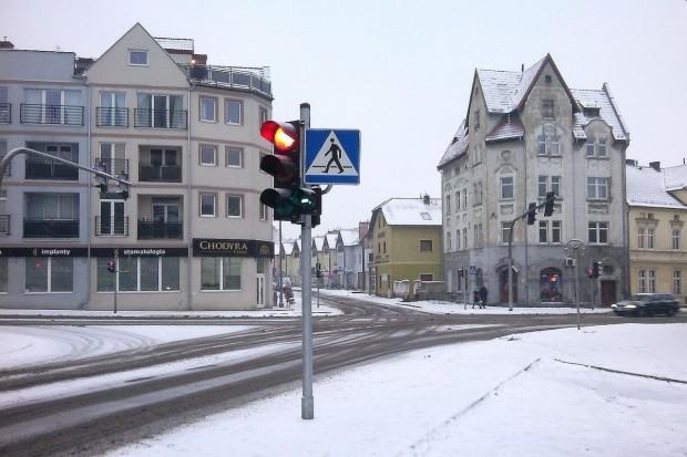 Zderzenie na skrzyżowaniu Gdańskiej z Łokietka
