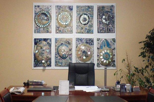 Fascynujące dzieło młodych bolesławian w gabinecie prezydenta Piotra Romana