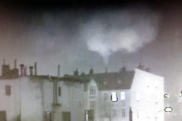 Straż Miejska: Płonąca sadza w budynku przy ulicy Podwale
