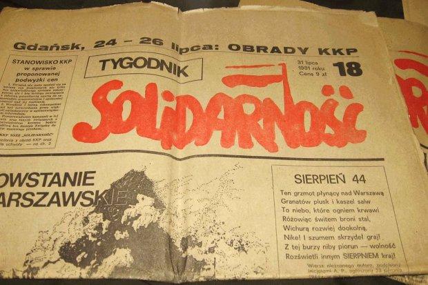"""Gdzie podziały się ideały """"Solidarności""""?"""