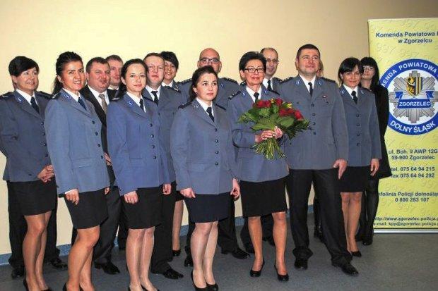 Wicekomendantka policji Katarzyna Szmyt przeszła na emeryturę