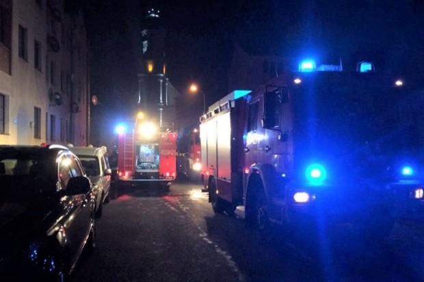 Pożar w budynku mieszkalnym w Nowogrodźcu
