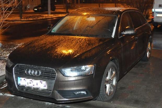 Odzyskali skradzione w Niemczech Audi. Paser zatrzymany
