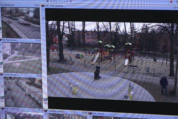Bezpieczniej na placu zabaw. Są nowe kamery monitoringu