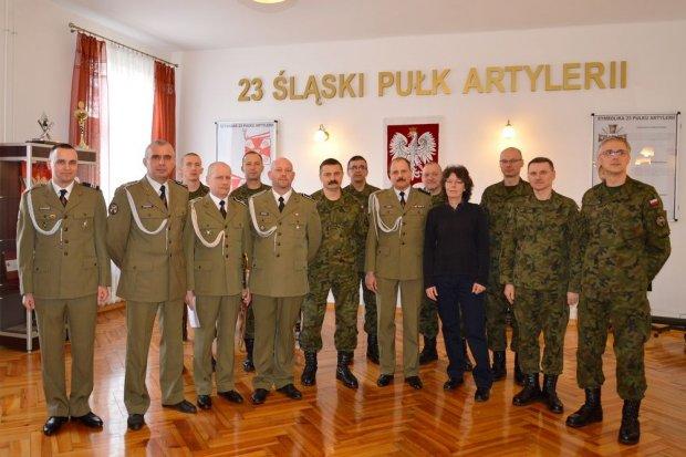 23 Śląski Pułk Artylerii: Pożegnanie artylerzystów