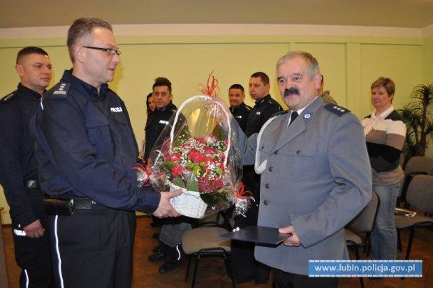 Komendant Jan Izak idzie na emeryturę, Janusz Światowski nowym szefem Komisariatu w Ścinawie