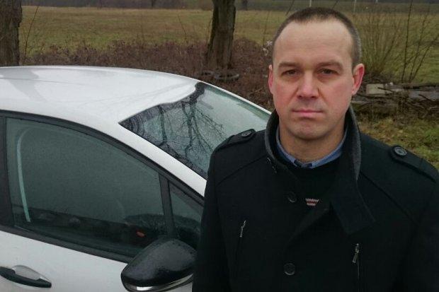 Bolesławianin był świadkiem wypadku auta prezydenta Dudy