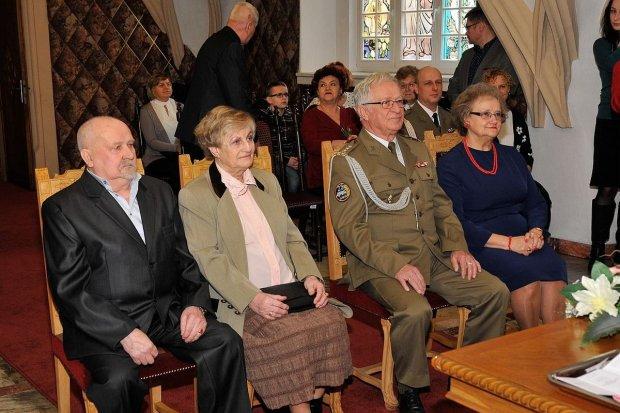 Państwo Baranowscy i Jędryczkowie obchodzili 50 rocznicę ślubu