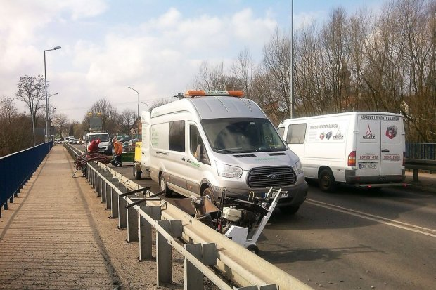 Koniec nerwów kierowców - kończą się prace na moście