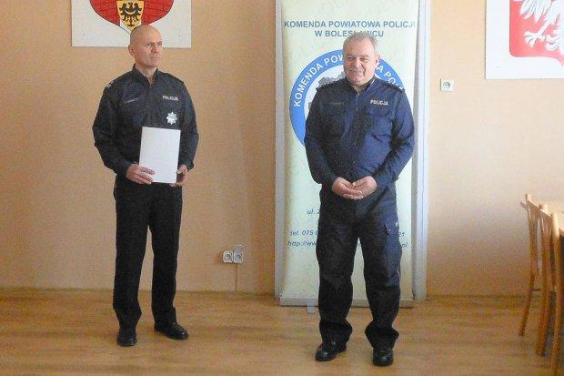 Dariusz Borski nowym zastępcą Komendanta Powiatowego Policji