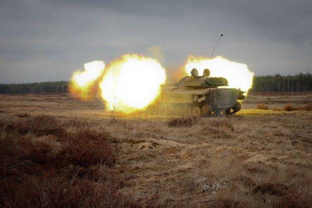 10 Brygada Kawalerii Pancernej: Strzelecki trening artyleryjski
