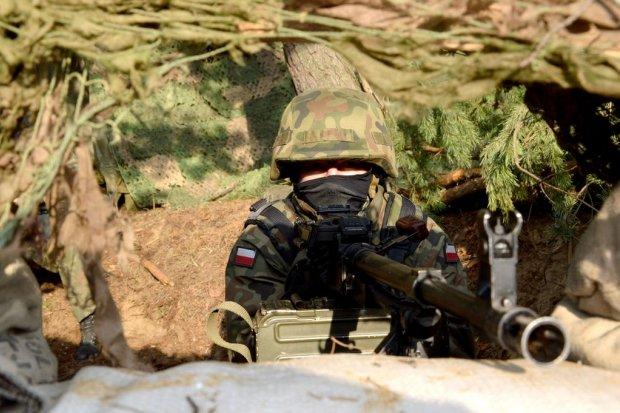 23 Śląski Pułk Artylerii: Grad na poligonie