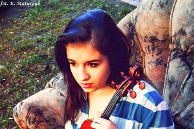 Trzymamy kciuki za Sarę, 15-letnią skrzypaczkę