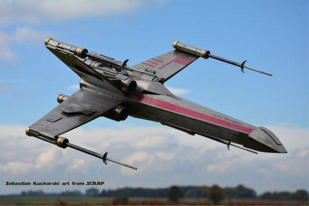 Myśliwce z Gwiezdnych Wojen w BOK-MCC