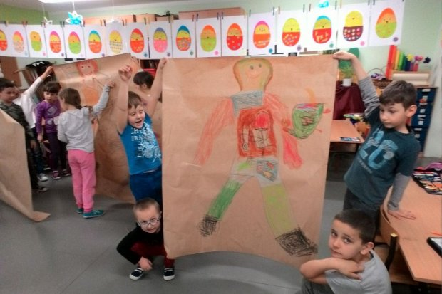 Rozmowy o emocjach i marzeniach dzieci z Gromadki