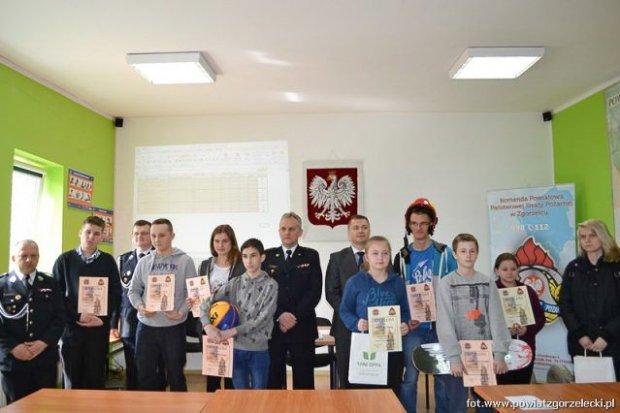 Znamy laureatów Turnieju Wiedzy Pożarniczej