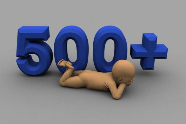 Kobiety, nastukajmy sobie dzieci za 500+