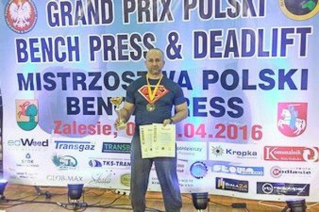 Legnicki policjant mistrzem Polski w martwym ciągu