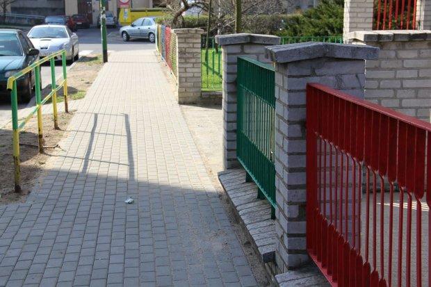 Nowy chodnik na ul. Staffa