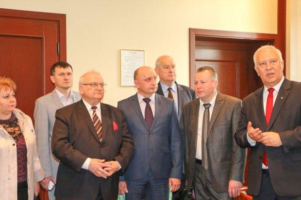 Ukraińscy goście w Ratuszu