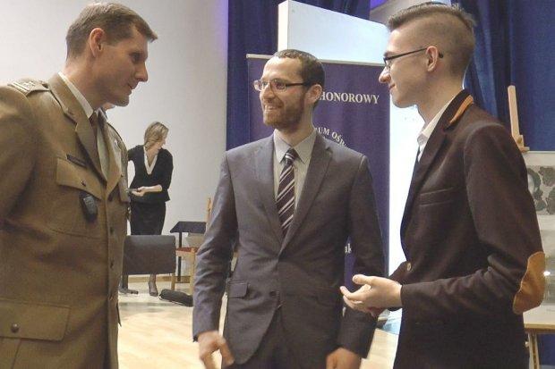 Przemek Kania z II LO najlepszy w ogólnopolskim konkursie o Żołnierzach Wyklętych