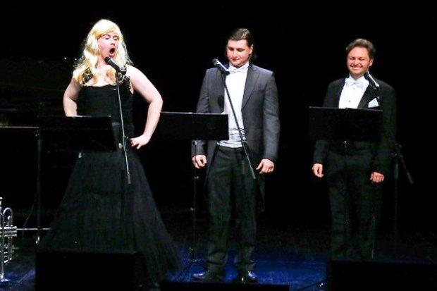 Świetny koncert trzech tenorów w BOK-MCC