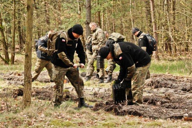 10BKPanc: żołnierze posadzili ponad 4 tys. drzew