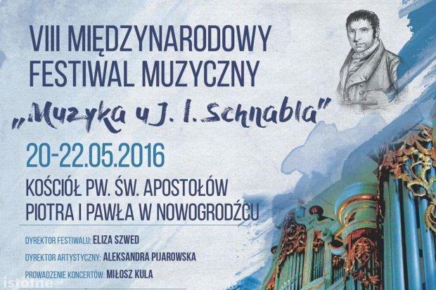 """Ósma edycja Międzynarodowego Festiwalu Muzycznego """"Muzyka u J.I. Schnabla"""""""