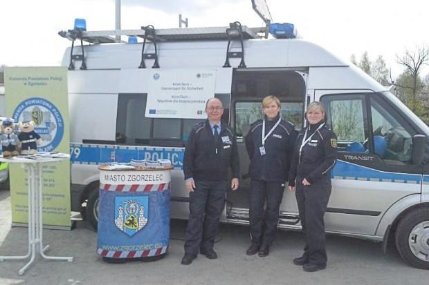 Policjanci w ramach KrimiTech uczestniczyli w międzynarodowych targach gospodarczych