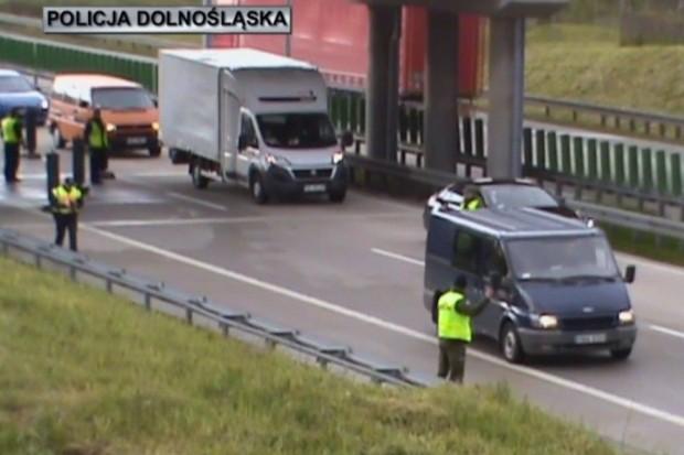 Ćwiczenia na autostradzie A4. Mobilizacja służb odpowiedzialnych za bezpieczeństwo