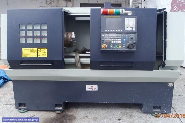 Odzyskali maszynę wartą 30 tys. euro
