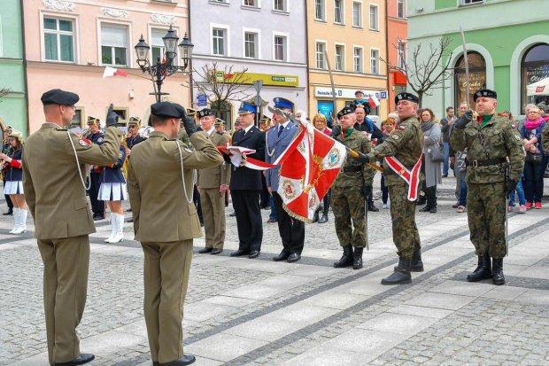 Dzień Flagi Rzeczypospolitej Polskiej w Bolesławcu